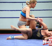 Bailee & Colette W. - Wrestling Girls - Nude Fight Club 9