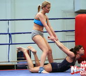 Bailee & Colette W. - Wrestling Girls - Nude Fight Club 13