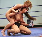 Lisa Sparkle & Linda Ray - Wrestling Girls - Nude Fight Club 13