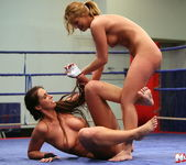 Lisa Sparkle & Linda Ray - Wrestling Girls - Nude Fight Club 17