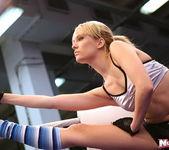 Blue Angel & Sabrinka - Lesbian Wrestling - Nude Fight Club 3