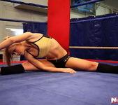 Blue Angel & Sabrinka - Lesbian Wrestling - Nude Fight Club 4