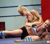 Blue Angel & Sabrinka - Lesbian Wrestling - Nude Fight Club 10