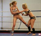 Blue Angel & Sabrinka - Lesbian Wrestling - Nude Fight Club 12