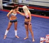 Kissy & Bea Stiel - Girl on Girl - Nude Fight Club 4