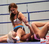 Kissy & Bea Stiel - Girl on Girl - Nude Fight Club 10