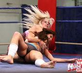 Kissy & Bea Stiel - Girl on Girl - Nude Fight Club 11