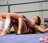 Kissy & Bea Stiel - Girl on Girl - Nude Fight Club 12
