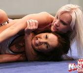 Kissy & Bea Stiel - Girl on Girl - Nude Fight Club 16