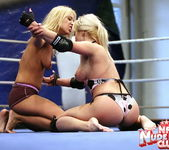Lee Lexxus & Nikky Thorne - Wrestling Girls 5