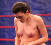Betty Saint & Sinead - Lesbian Wrestling - Nude Fight Club 18
