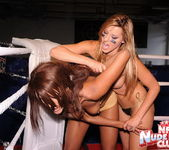 Cindy Hope & Keisha Kane - Wrestling Girls - Nude Fight Club 5