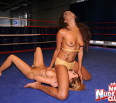 Cindy Hope & Keisha Kane - Wrestling Girls - Nude Fight Club 9