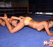 Cindy Hope & Keisha Kane - Wrestling Girls - Nude Fight Club 10