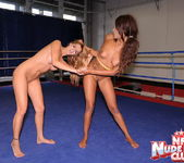 Cindy Hope & Keisha Kane - Wrestling Girls - Nude Fight Club 12
