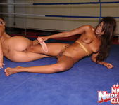 Cindy Hope & Keisha Kane - Wrestling Girls - Nude Fight Club 14