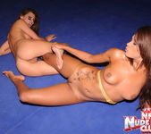 Cindy Hope & Keisha Kane - Wrestling Girls - Nude Fight Club 15