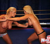 Jessica Moore & Wivien - Girl on Girl - Nude Fight Club 5