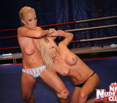 Jessica Moore & Wivien - Girl on Girl - Nude Fight Club 6