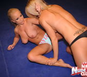 Jessica Moore & Wivien - Girl on Girl - Nude Fight Club 8