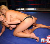 Jessica Moore & Wivien - Girl on Girl - Nude Fight Club 9