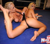 Jessica Moore & Wivien - Girl on Girl - Nude Fight Club 16