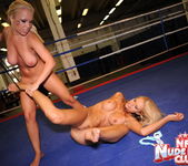 Jessica Moore & Wivien - Girl on Girl - Nude Fight Club 17