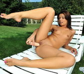 Jeanette Toying Outdoors - Open Air Pleasures 14