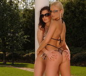 Doris & Ksara Outdoors Toying Lesbians - Open Air Pleasures 2