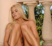 Adriana Malkova Toying Outdoors - Open Air Pleasures 15