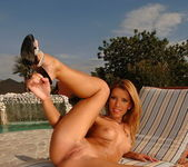 Betty Saint Toying Outdoors - Open Air Pleasures 10