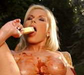 Chloe Sweet Toying Outdoors - Open Air Pleasures 14
