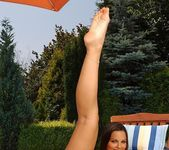 Eve Angel Toying Outdoors - Open Air Pleasures 11