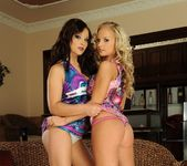 Lesbian Sex with Barbie White & Lana S 2