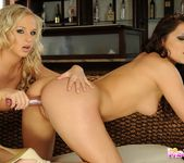 Lesbian Sex with Barbie White & Lana S 17