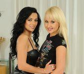 Lesbian Sex with Shalina Divine & Amelie 2
