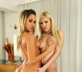 Lesbian Action with Donna Bell & Aleksa 4