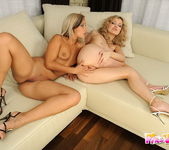 Lesbian Sex with Candy & Faye Barts 8