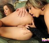 Eliska & Mellie Playing Lesbians 7