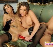 Eliska & Mellie Playing Lesbians 12