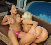 Adelle & Trixie Playing Lesbians 5