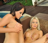 Adelle & Trixie Playing Lesbians 17