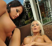 Adelle & Trixie Playing Lesbians 18