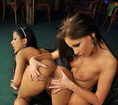 Kissy & Kyra Black Toying Lesbians 16