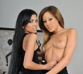 Lesbian Action with Anita Pearl and Pure Angel 2