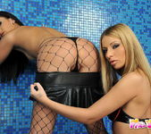 Debbie White & Lulu Lez Action 4