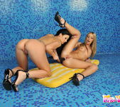 Debbie White & Lulu Lez Action 15