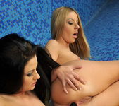Debbie White & Lulu Lez Action 18