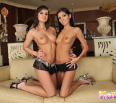 Lesbian Action with Pure Angel & Abbie Cat 2