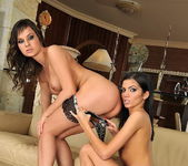 Lesbian Action with Pure Angel & Abbie Cat 3